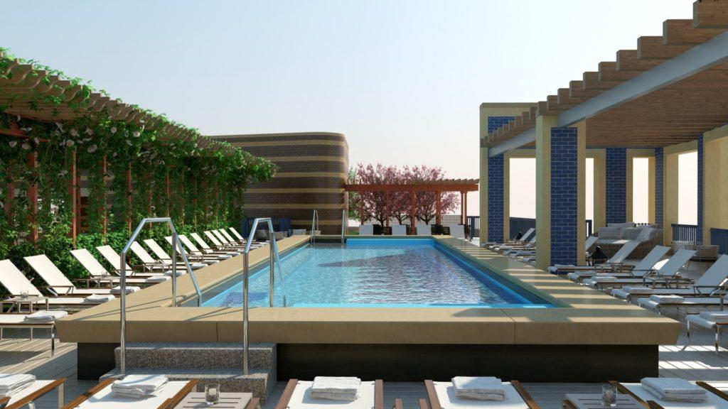 Park Chelsea Rooftop Pool