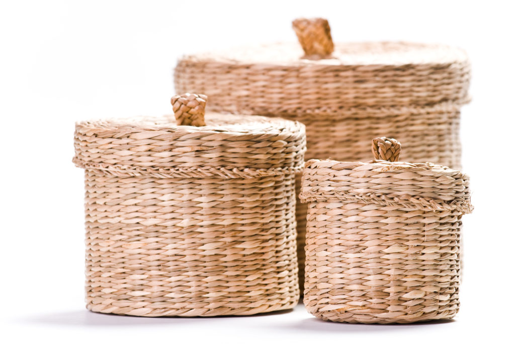 Spring Cleaning Tips: Baskets