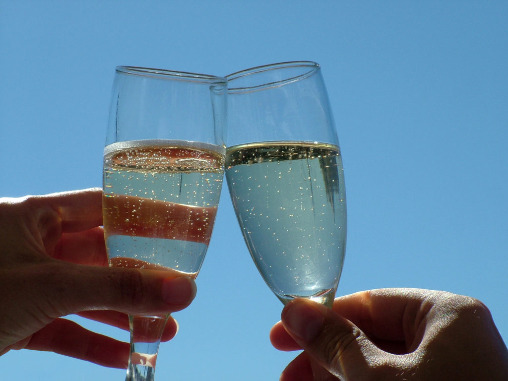 Spring Cleaning Tips: Champagne Cheers