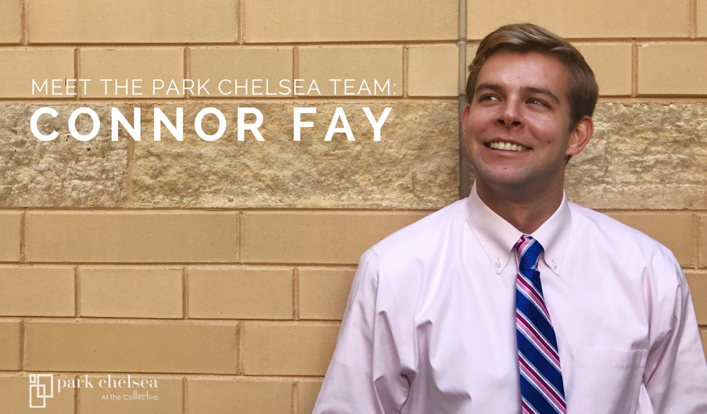 Meet The Park Chelsea Team: Leasing Consultant Connor Fay