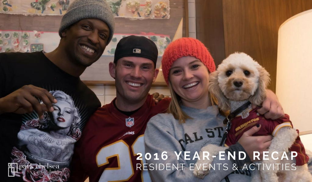 2016 Year-End Recap: Resident Events & Activities