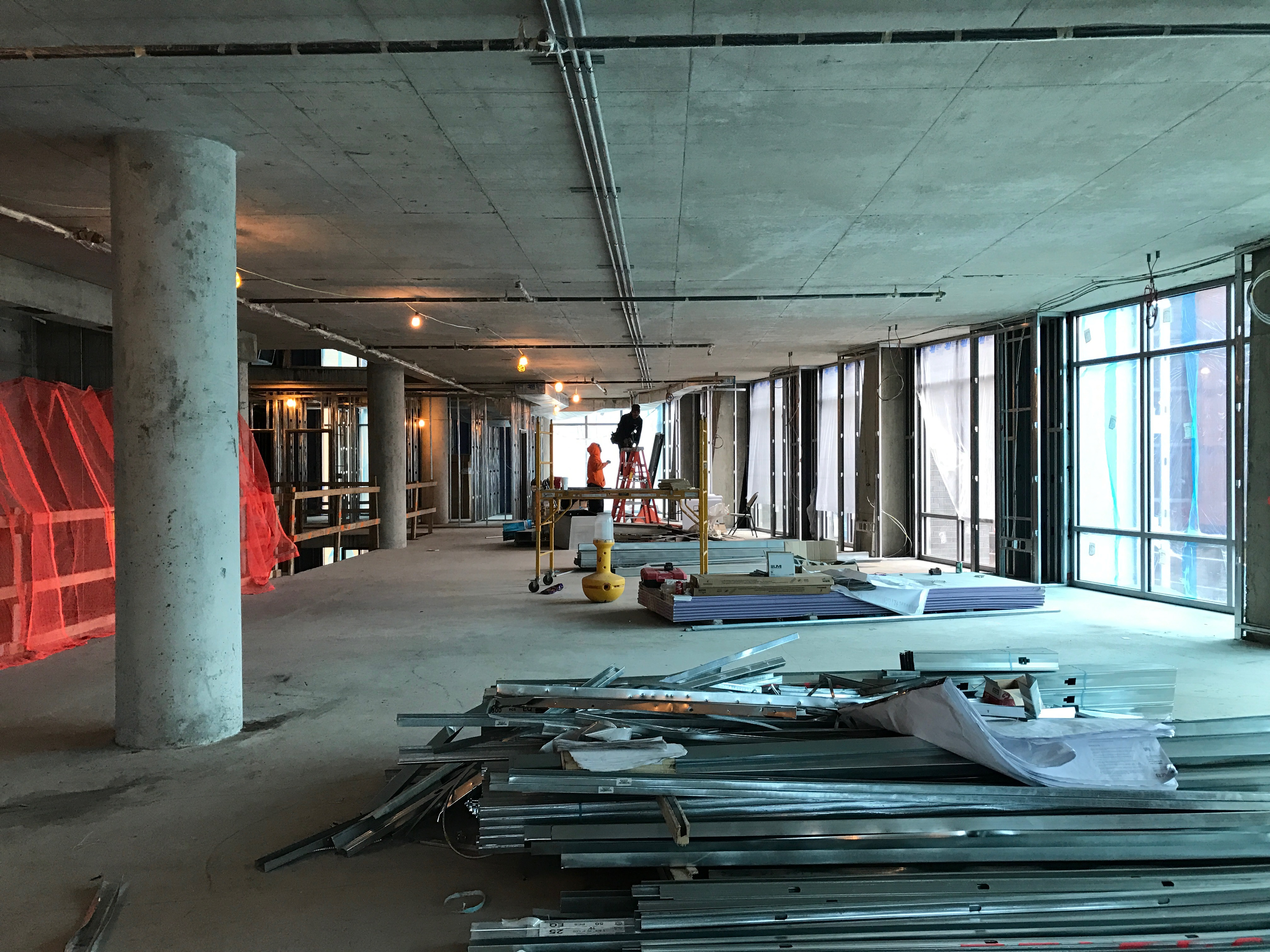 Agora Apartments | Capitol Riverfront Washington DC Apartments | Contruction Update Photos | Clubroom Level