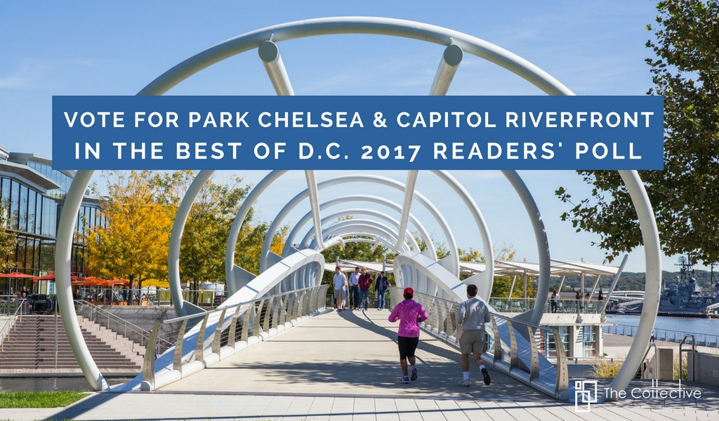 Vote Park Chelsea & The Capitol Riverfront in Washington City Paper's Best of D.C. 2017 Readers' Poll
