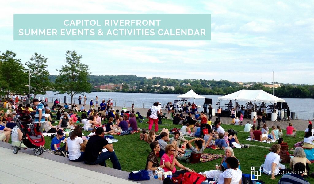Capitol Riverfront Summer Events & Activities Calendar
