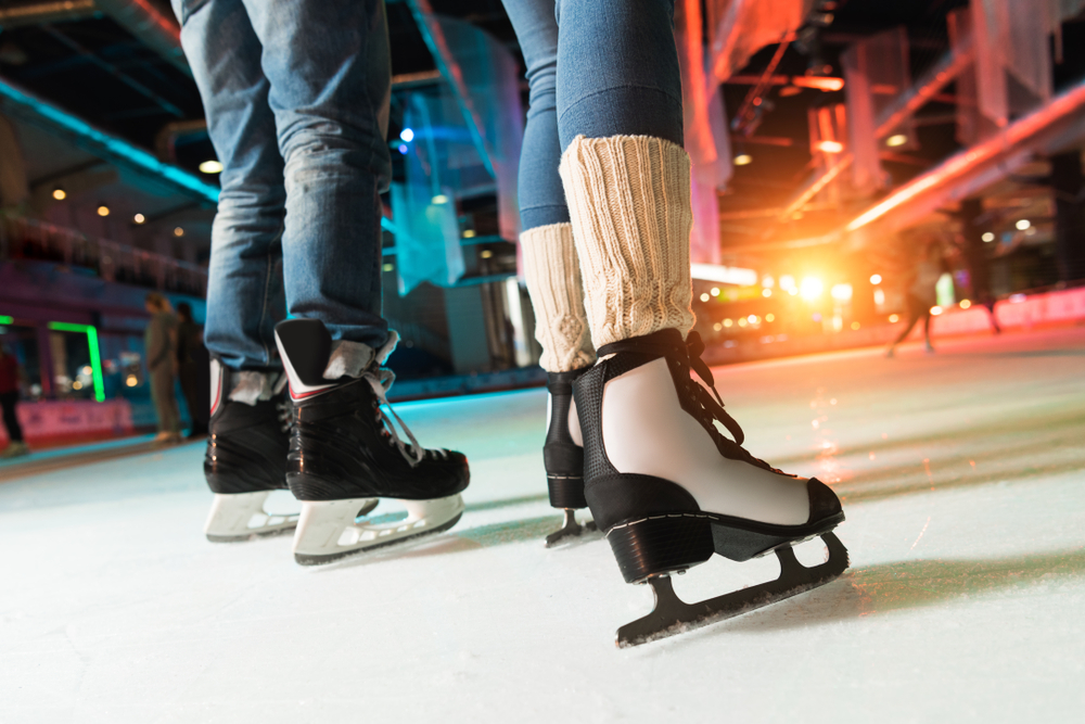 Ice-Skating-Date-Couple-Winter