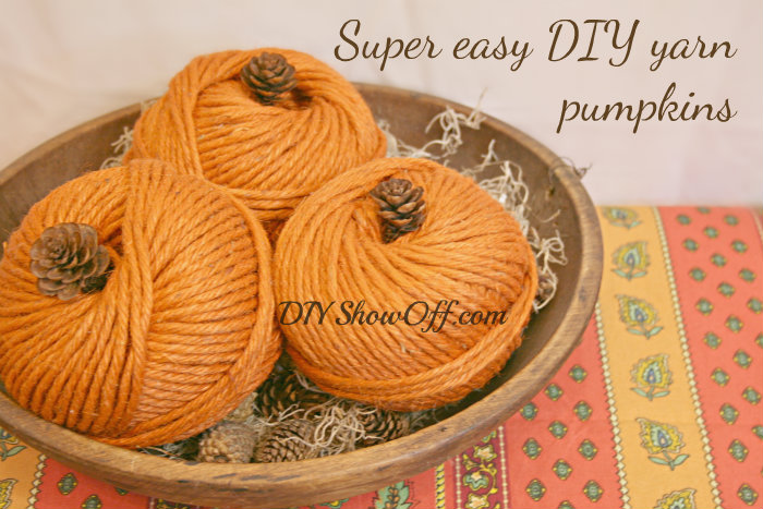 Yarn-Pumpkin-Decor-Fall-Crafting-DIY-Projects-Apartment