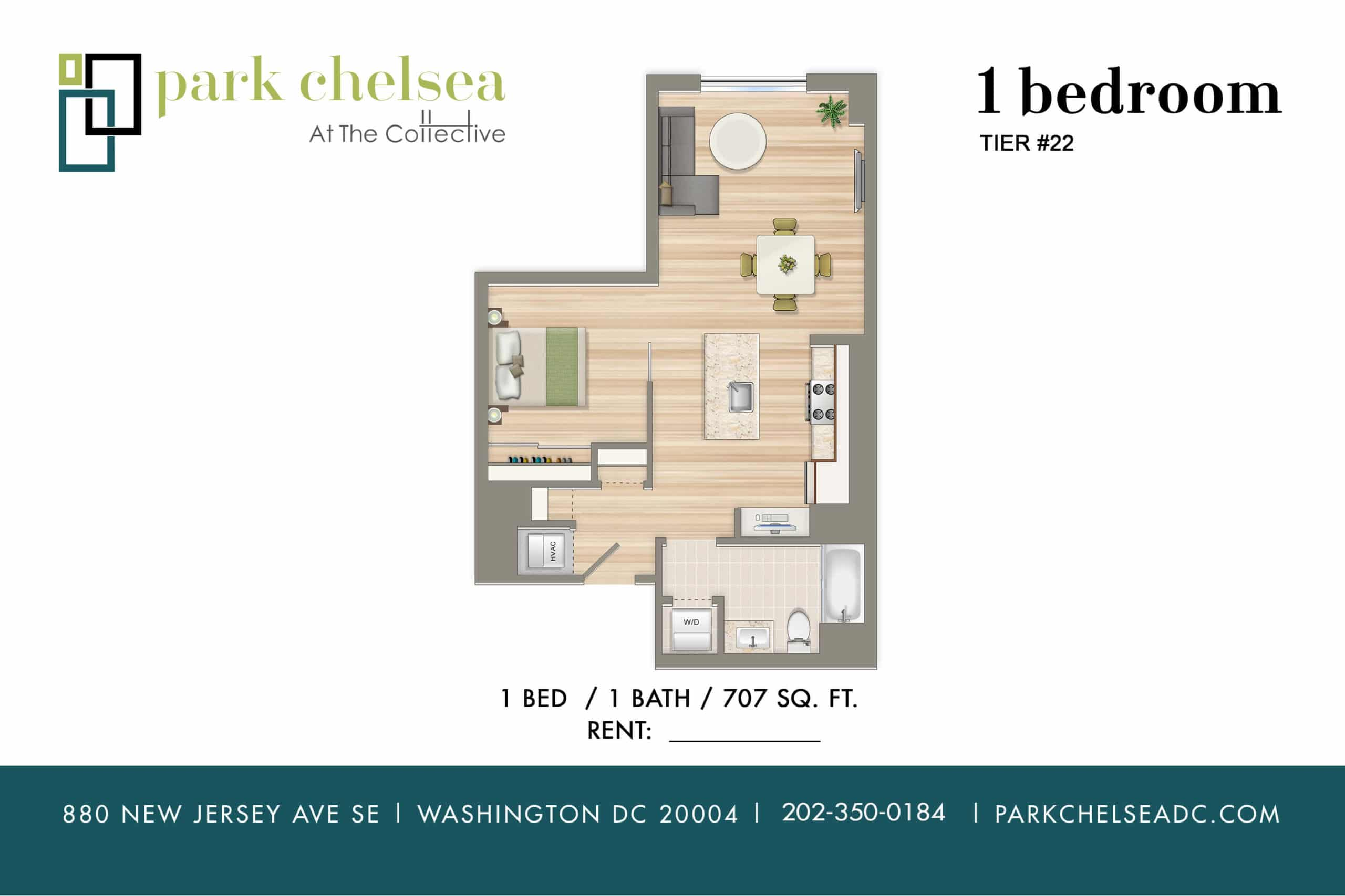 1 Br Apartments In The Capitol Riverfront Navy Yard The Collective